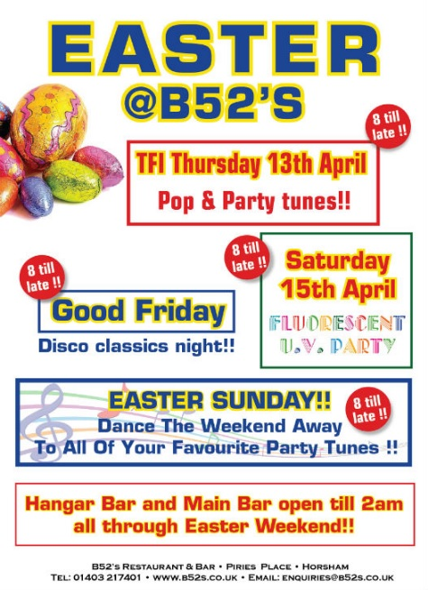 easter at b52s