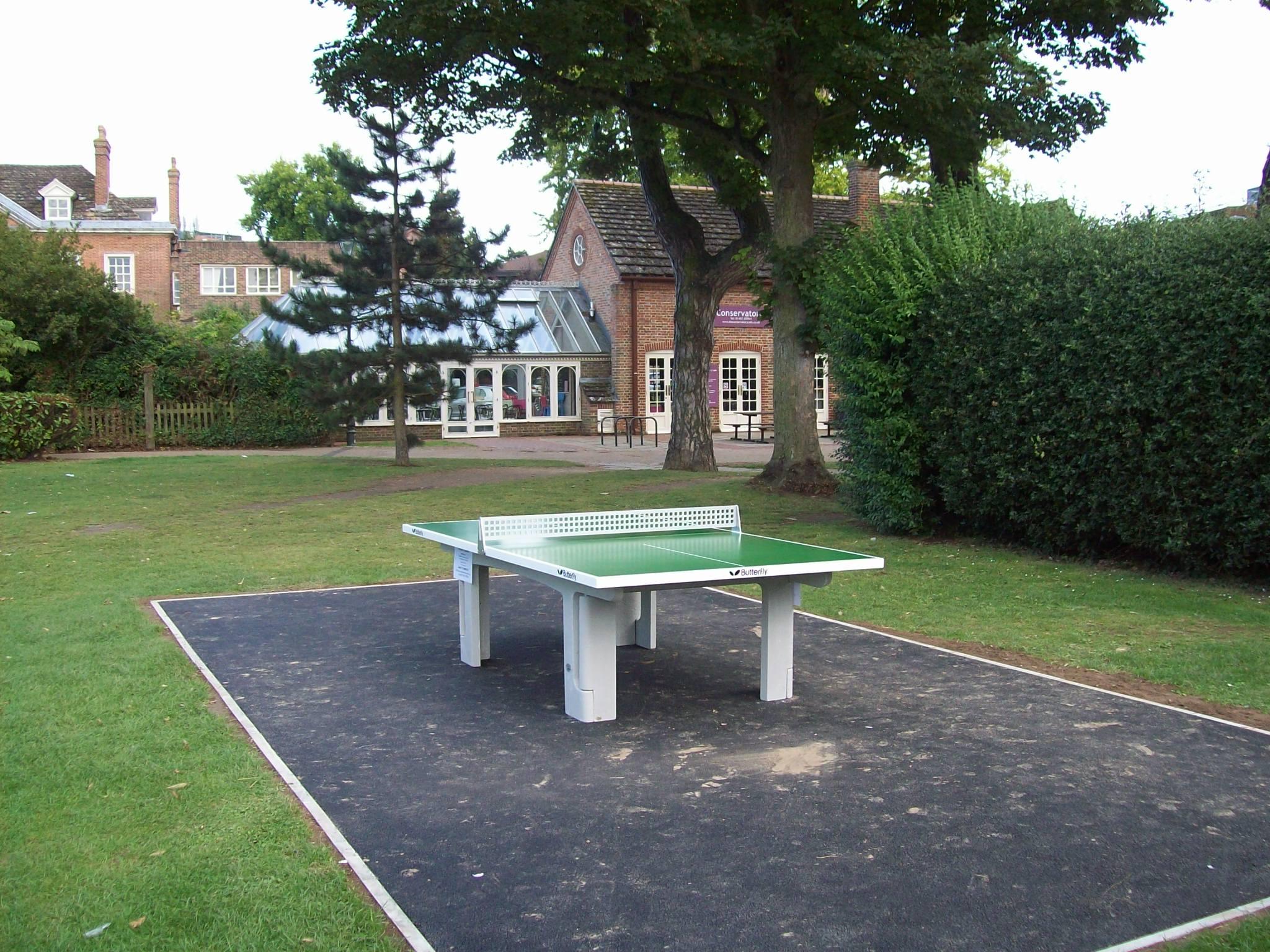 Horsham Park Table Tennis