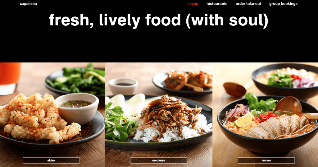 Wagamama's new menu - HB review 2