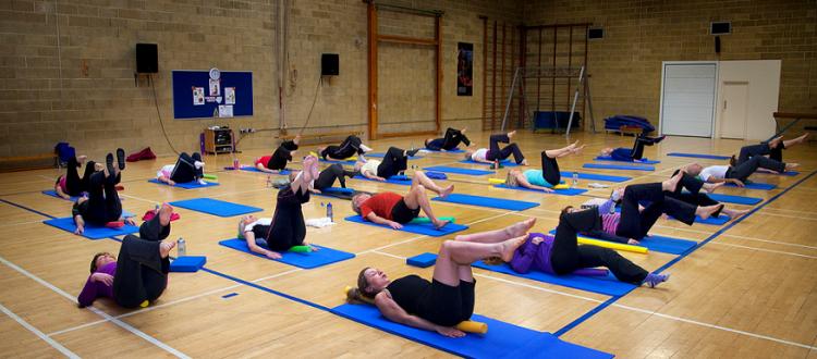 yoga at bluecoats