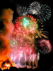 brockham fireworks
