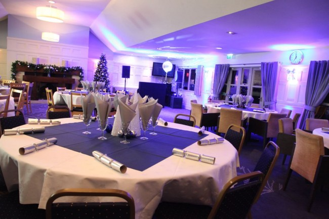 slinfold golf club christmas party