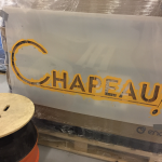 Chapeau! Brewery Sign
