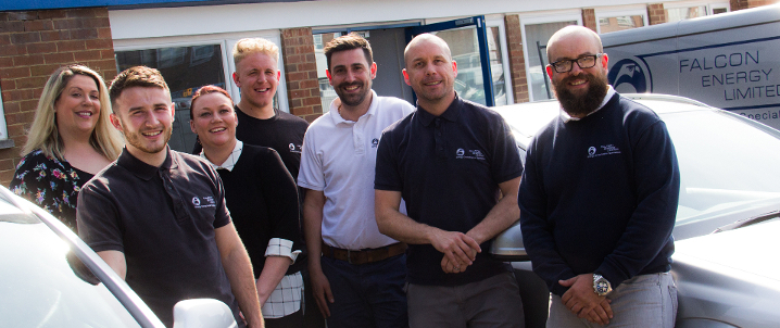 Falcon Energy team photograph