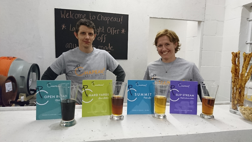Owners of the Chapaeu! Brewery