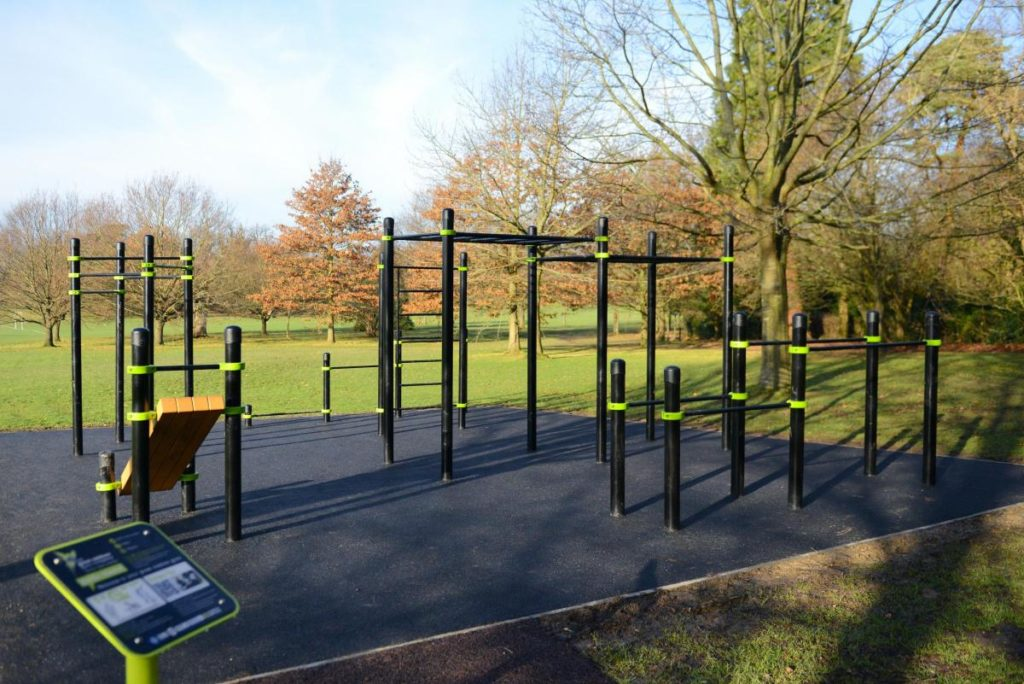 new outdoor gym horsham park