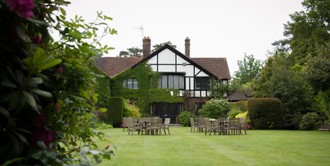 the cisswood garden restaurant