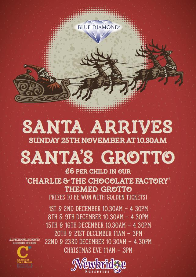 Santa Grotto's Poster
