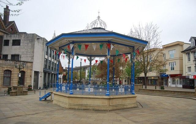 horsham carfax bandstand