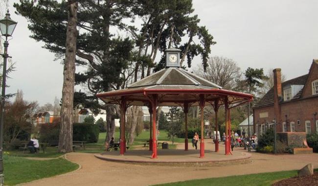 horsham park podium