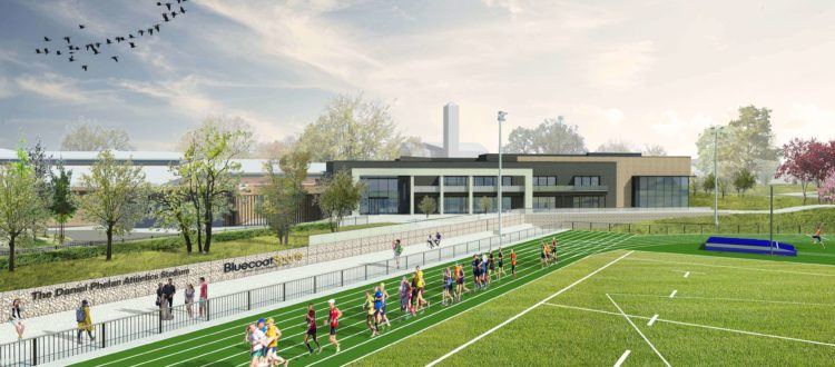 Bluecoat Sports Expansion - Running Track
