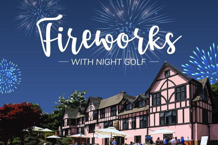 fireworks and golf at mannings heath
