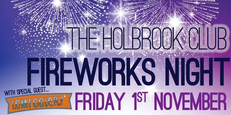 holbrook club firework eve