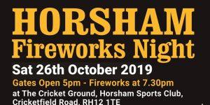 horsham sports club fireworks